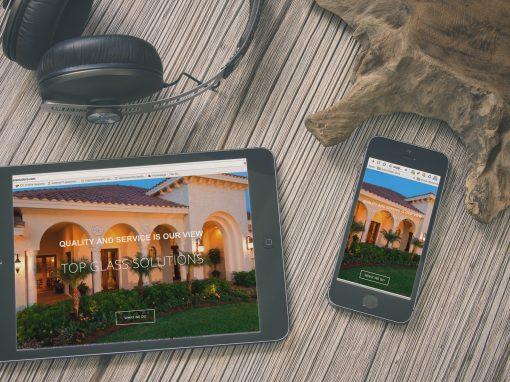 TOP Glass Solutions Website